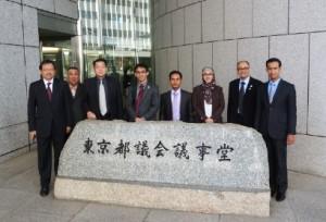 Meeting with Japan Olympic Committee at Tokyo Metropolitan Headquarters