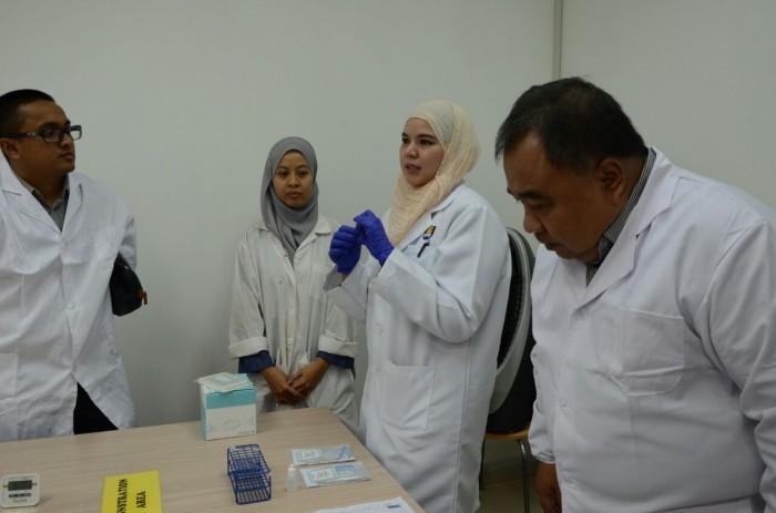 Briefing on porcine detection