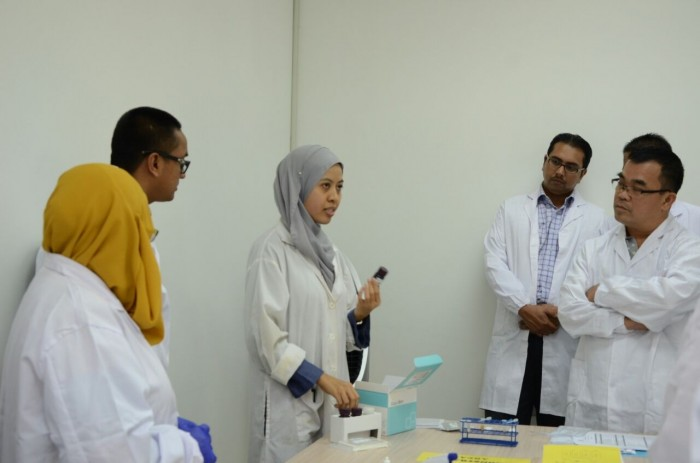 Briefing session on porcine detection