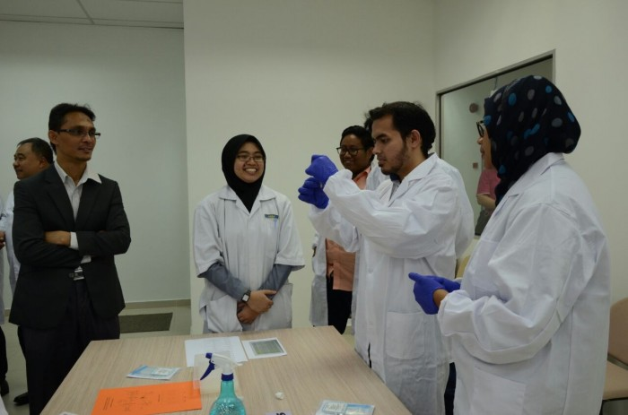 Participants involved